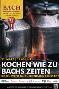 Kochkurs - kochen wie zu Bachs Zeiten