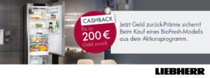 Biofresh Cashback Aktion von Liebherr
